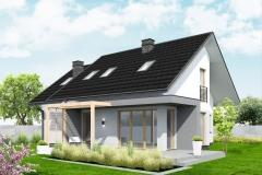dom jednorodzinny Rajska tył